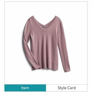 Chaya Double V-neck sweater XL